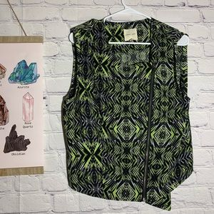 Urban Outfitters Silence + Noise Green blouse LG